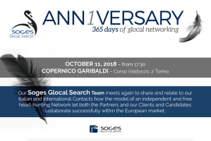 Anniversary 365 days of glocal networking